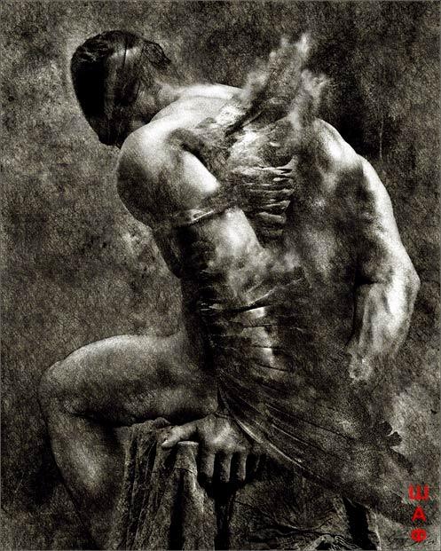 Икар - человек, неудачно оторвавшийся от Земли.